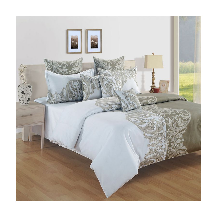 Sparkle Fitted Bed Sheet- 11001