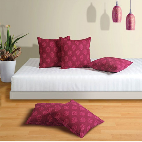 Pink Wine Cushion Cover-3008