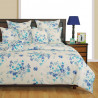 Veda Fitted Bed Sheet- 1342