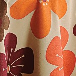 Roses Printed Round Table Linen-6904