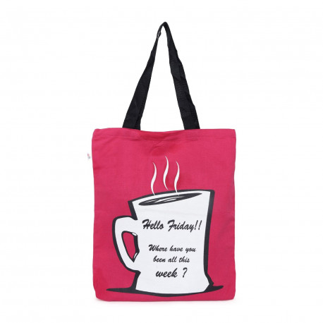 Hello Friday Canvas Graffiti Bag- GCB01- 507