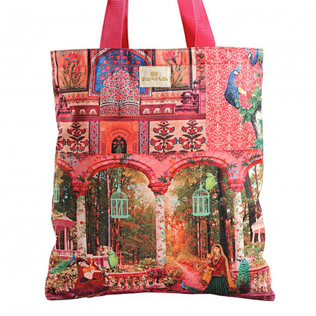 Swayam Carry Silk Handbag - QCB-14