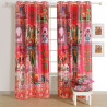Pink Color Indian Regal Curtain