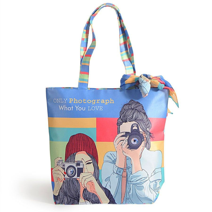 Fashion bag with neck roll scarf - FBS-05