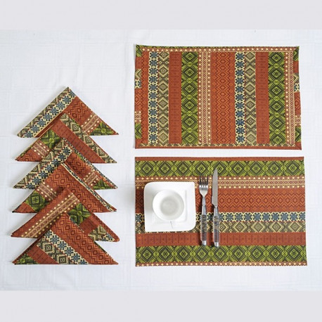 Table Mat And Napkin - 1406