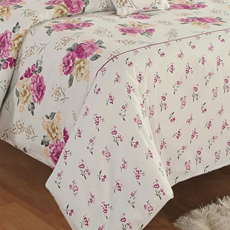 Zinnia Fitted Bed Sheet- 15001