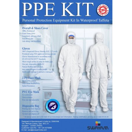 Personal Protection Kit (PPE)