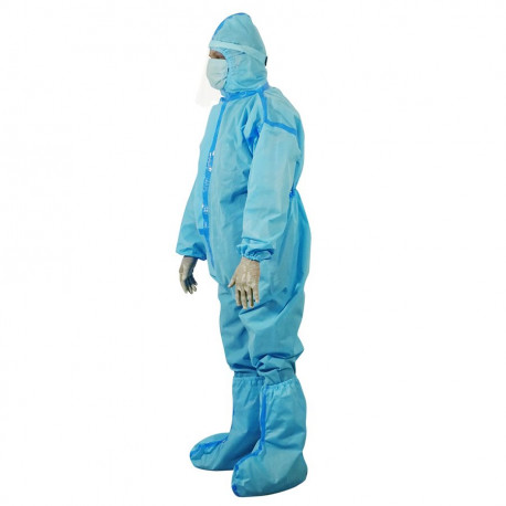 Personal Protective Equipment PPE Kit In Non Woven,Premium Graded 90 GSM laminated/With Tape