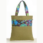 Exotic Olive Colored Jute Bags- CJB-2402