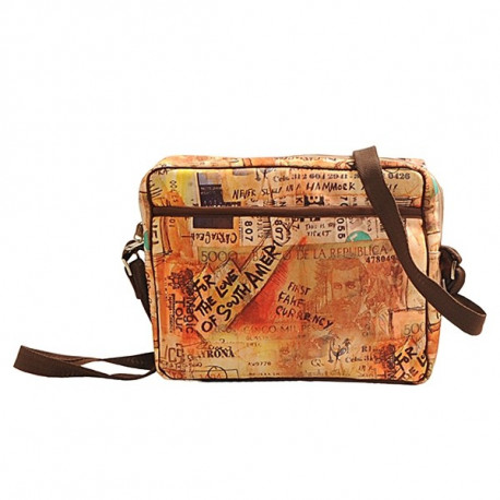 Beige Currency IPad Satchel – IPD01-9