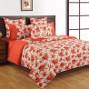 Shades Of Paradise Fitted Bed Sheet- 2614