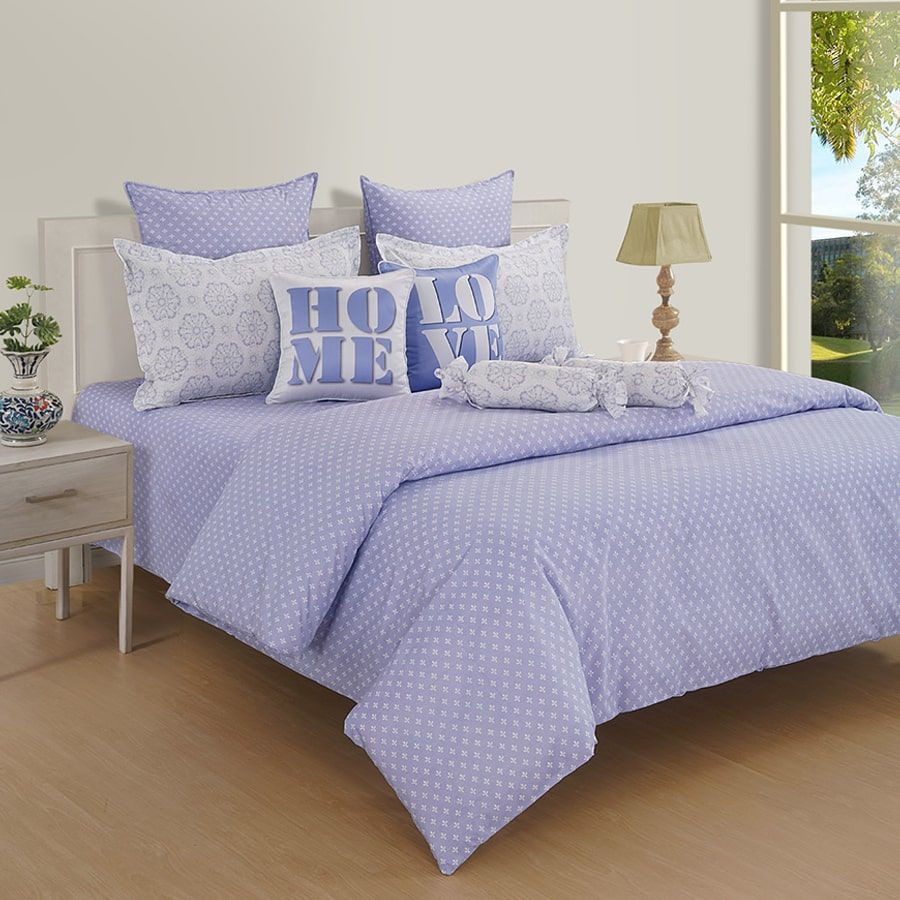 Metal Gray Double Bedsheet-16014