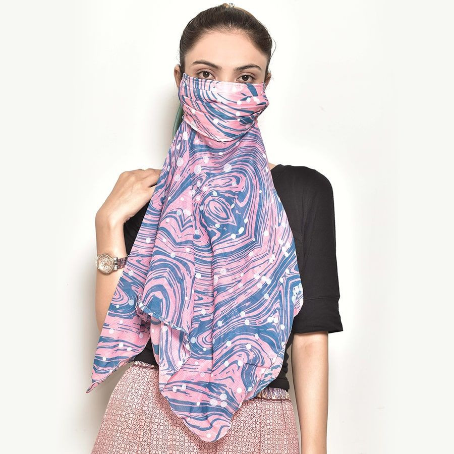 Aesthetic Security Scarf Mask-5115