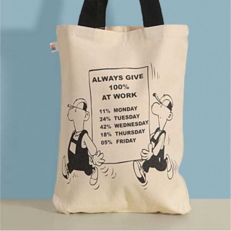 Pet Friends Canvas Graffiti Bag-Friendship Bag- 652