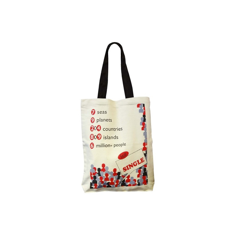 Funny creative Canvas Graffiti Bags- GCB01- 516