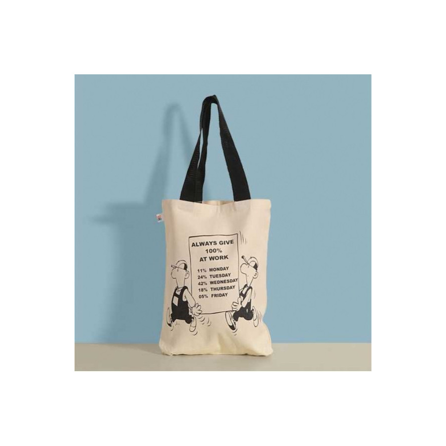 Work Canvas Graffiti Bag- 502