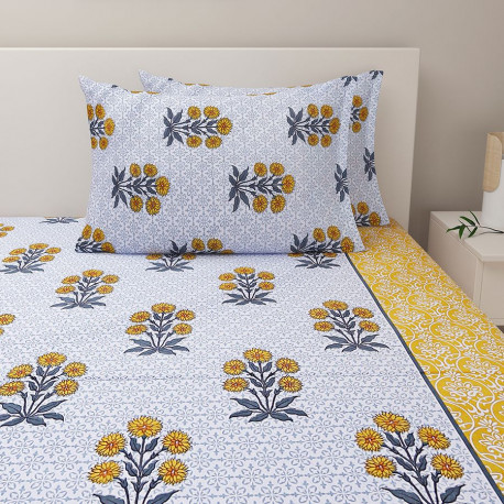 Veda Bed Sheet - 22001