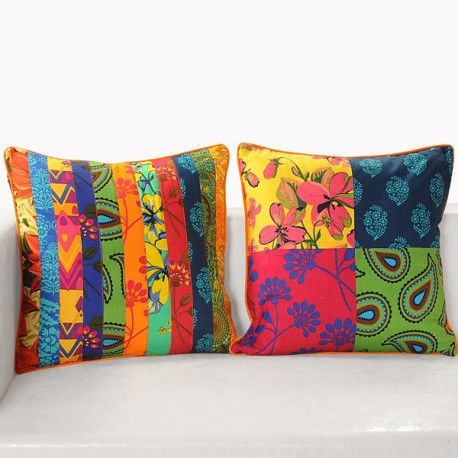 Patchwork Cushion Covers - Appl-12001