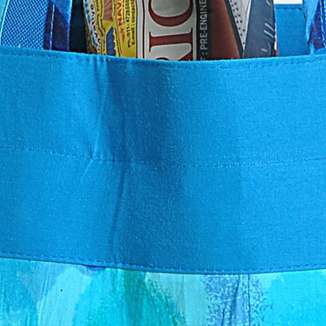 Azure Shopping Bag- 6715