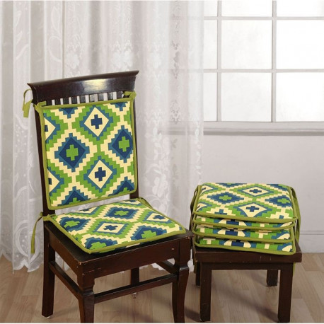 Green Chair Pads- CPD01-1408
