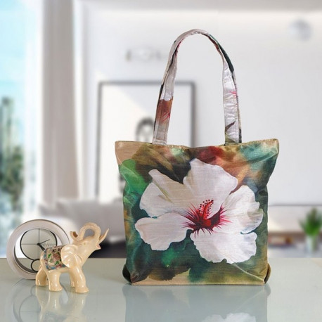 White Lily Fashion Shopping Bag -706