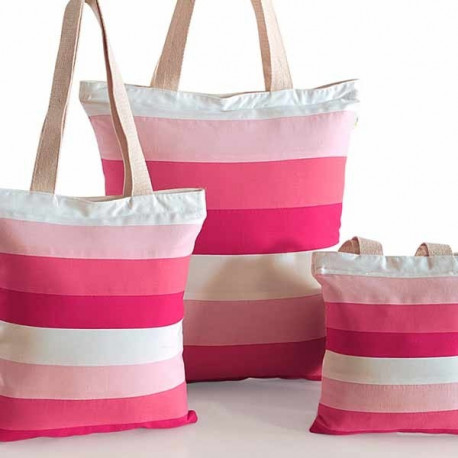 Pink Shades Three in One Bags – 865 -Wow –Plain
