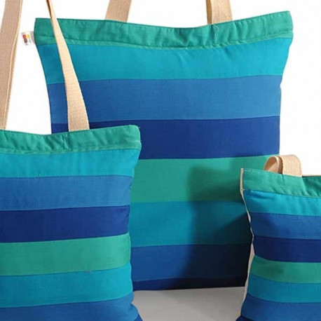 Blue Green Three in One Bags – 866 -Wow –Plain