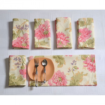 Bloom Dinner Napkins Set- 3612
