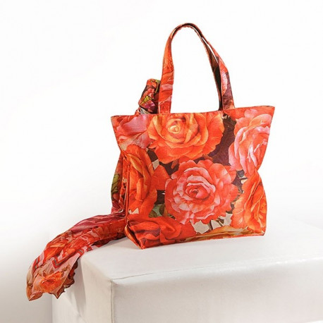 Morning Rose Scarf Bags- SCF-901