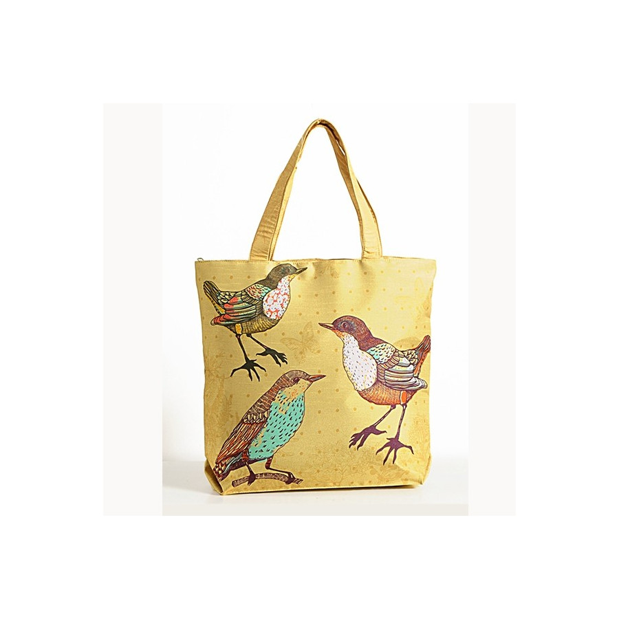 Yellow Bird Animal Theme Bag