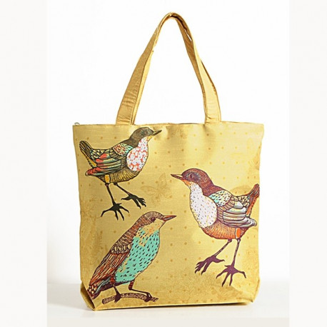 Yellow Bird Animal Theme Bag- Birds- 3