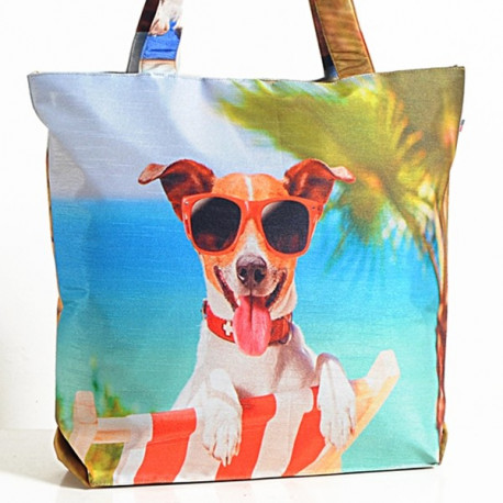 Beach Dog Animal Theme Bag - Dogs-3