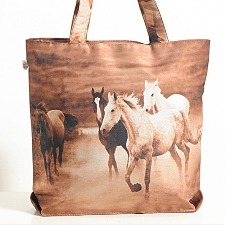 Brown Horse Animal Theme Bag- Horses-1