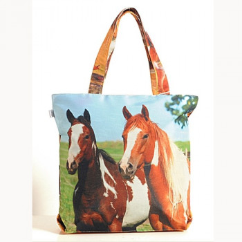 Scenic Horses Animal Theme Bag- Horses-2
