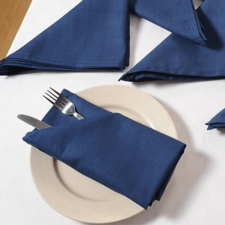 Persian Blue dinner Napkin Sets – Navy Blue