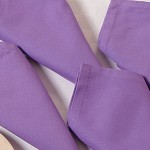 Medium Purple Dinner Napkins Set – Purple