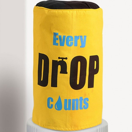 Yellow Water Bottle Covers - BTL-Drop