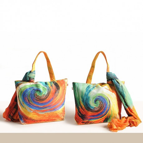 Fashion Galaxy Bags & Scarf – SCF 931