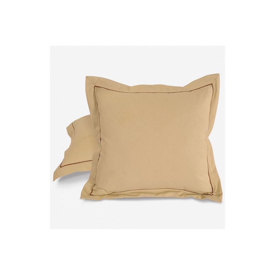 Beige Cushion Cover- Cushion Sld Beige
