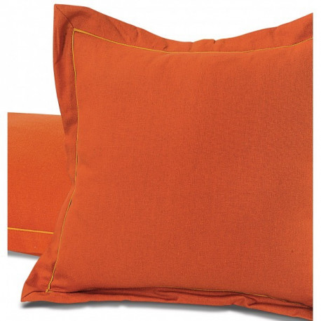 Rust Cushion Cover-Cushion Sld Rust