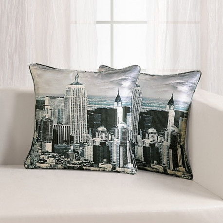 City Digital Printed Cushion Covers- DCC- 1112