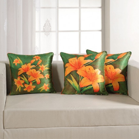 Lily Digital Printed Cushion Covers- 1153