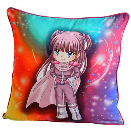 Supergirl Kids Cushion Covers-KCC- 176