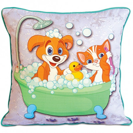 Bath Kids Cushion Cover-KCC-110