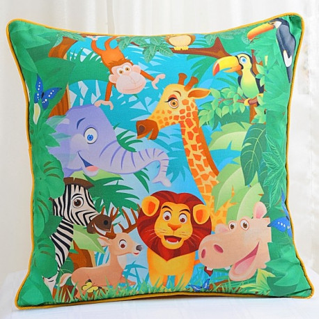 Jungle Kids Cushion Covers- KCC-134