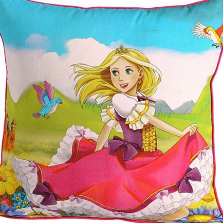 Princess Teens Cushion Covers-158