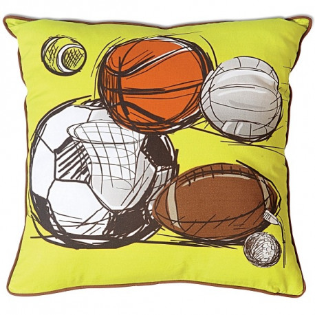 Charger Teens Cushion Cover- (KCC- 114)