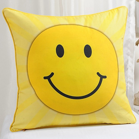 Smiley Teens Cushion Cover- KCC- 133