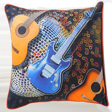 Guitar Teens Cushion Covers (KCC- 135)