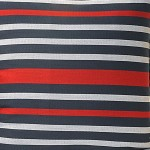 Coral Stripes Printed Cushion Covers – 1501